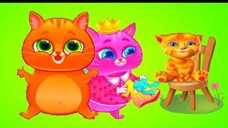 КОТЕНОК БУБУ 93  Котёнок КАТЯ   игровой мультик для малышей видео для детей   УШАСТИК KIDS