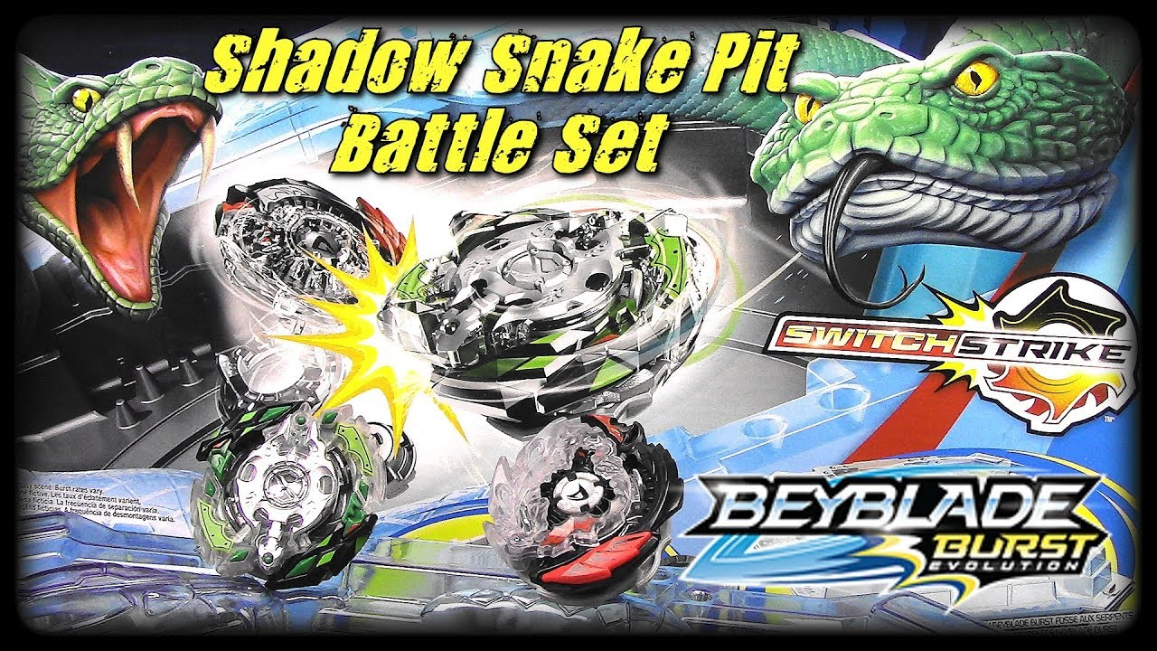 Shadow Snake Pit Battle Set Beyblade Burst Evolution