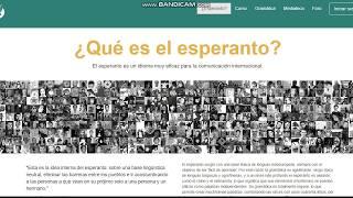 Presentación de esperanto en español