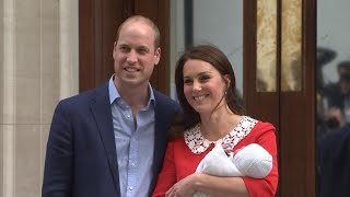 Prince William and Kate Middleton's Baby Is Named