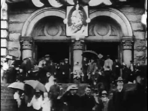 President McKinleys Funeral, 1901, Part 1