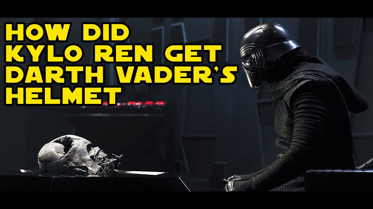 Finding Vader's helmet was the start of Kylo's  fall to the dark side? Maxresdefault