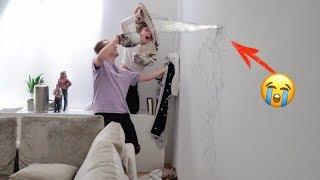 Wasserschaden in unserem Wohnzimmer .. 🏡😭 | Bibi