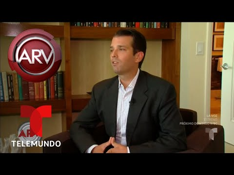 Polémica por controversial tuit de Donald Trump Junior | Al Rojo Vivo | Telemundo
