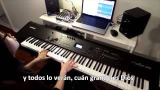 Cuan grande es Dios - pista instrumental piano, karaoke
