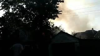Пожар в Приорском райне