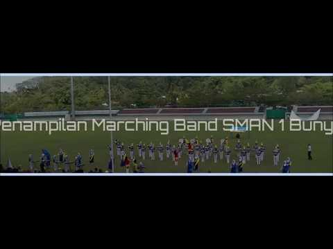 Aksi Marching Band SMAN 1 Bunyu