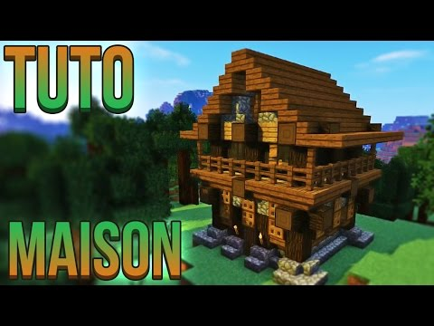 tuto maison l gendaire minecraft doovi. Black Bedroom Furniture Sets. Home Design Ideas