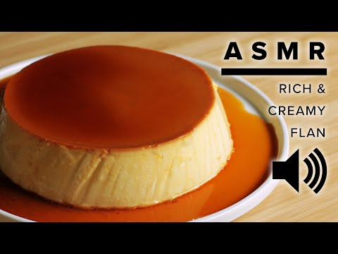 ASMR Baking: Rich & Creamy Flan • Tasty