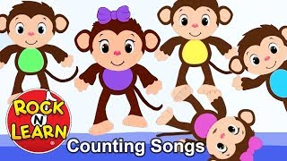 Counting Songs for Kids | Count to Five and Ten