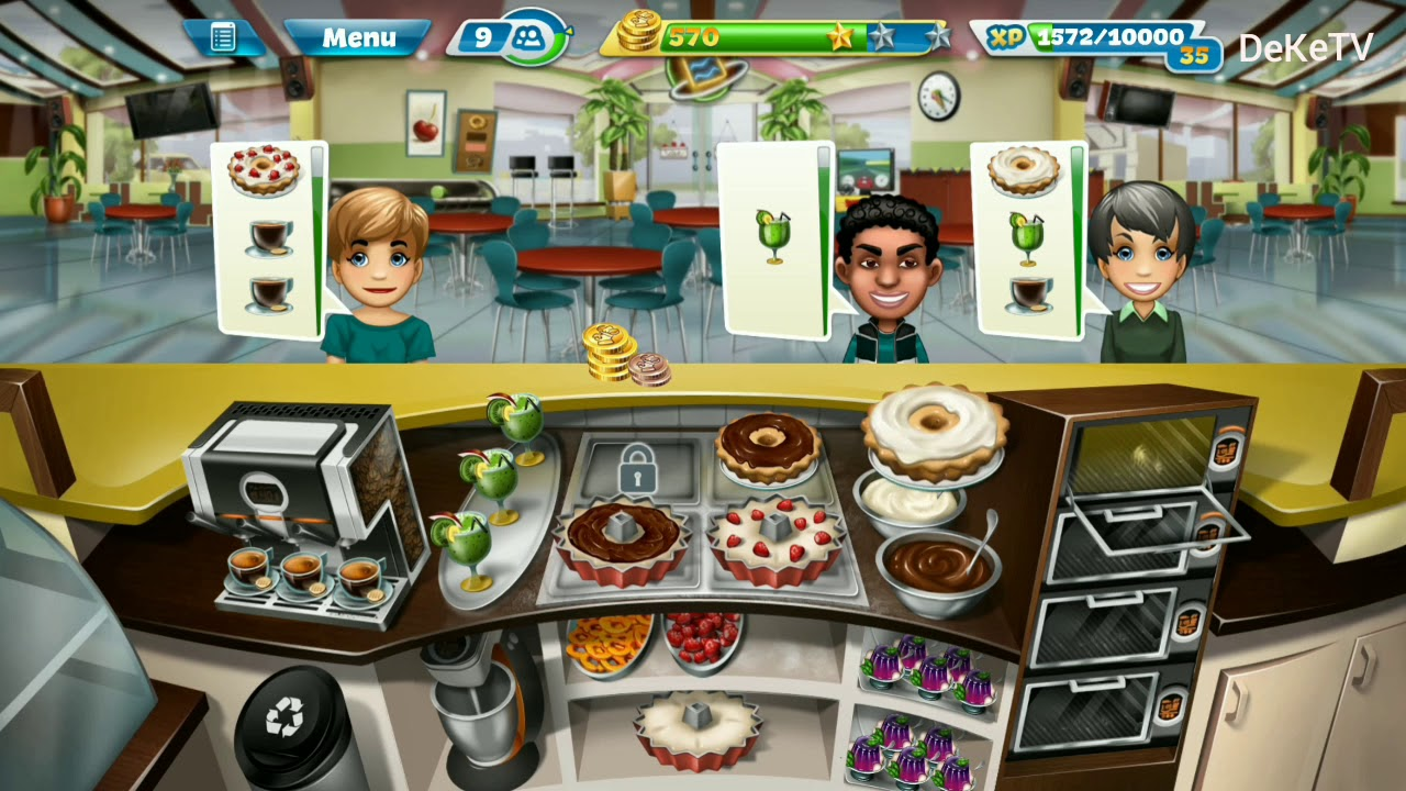 Cooking fever slot machine