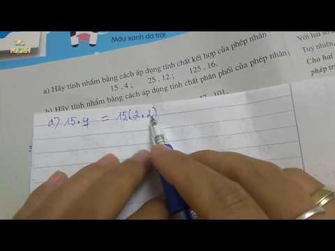[ Toán 6 ] Bài 5 - Phép cộng và phép nhân ( SGK ) phần luyện tập 2 #mshanh