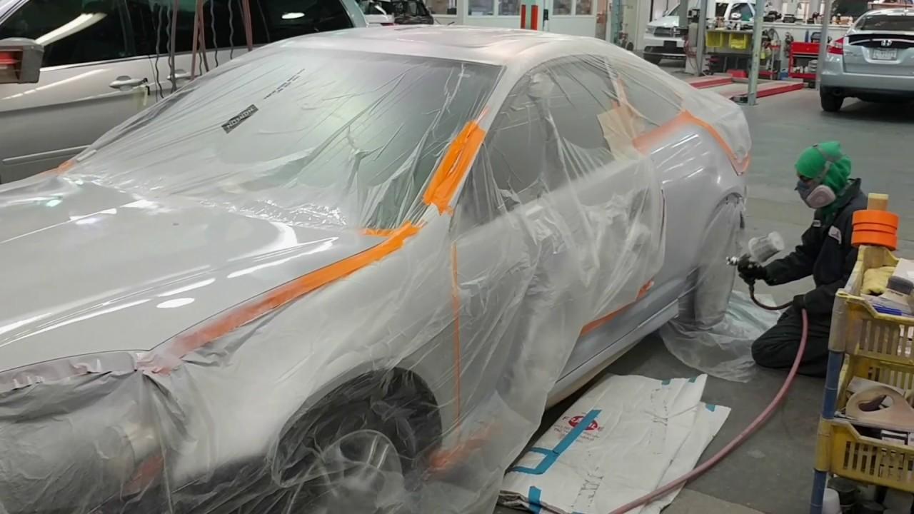 Acura RSX Hood Door Quarter Panel Repaint Paint Repair - Acura rsx hood