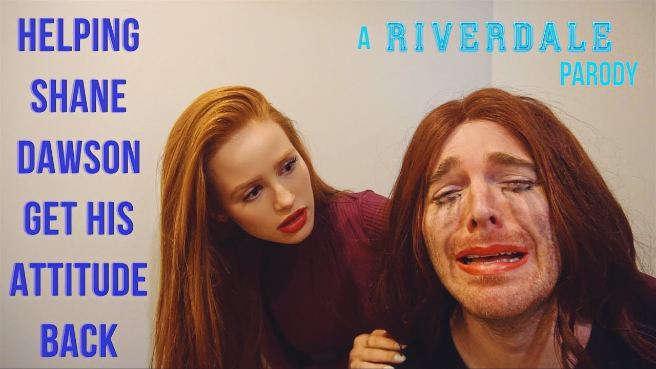 Helping Shane Dawson Get His Attitude Back (RIVERDALE Skit) | Madelaine Petsch