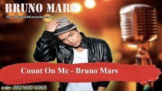 Count On Me   Bruno Mars Karaoke