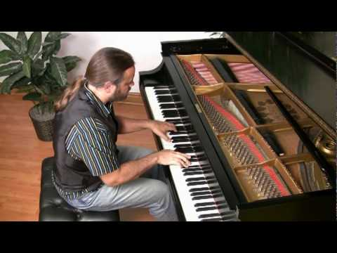 The Easy Winners by Scott Joplin (older version) | Cory Hall, pianist-composer