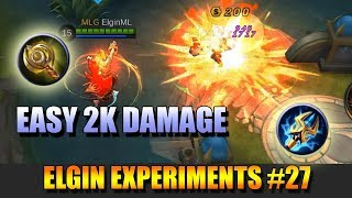 EXTRA DAMAGE BUILD - ELGIN EXPERIMENTS #27 - CLOCK OF DESTINY AND LIGHTNING TRUNCHEON COMBO