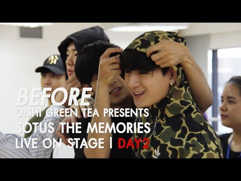 BEFORE OISHI Green Tea presents SOTUS THE MEMORIES LIVE ON STAGE   DAY.02