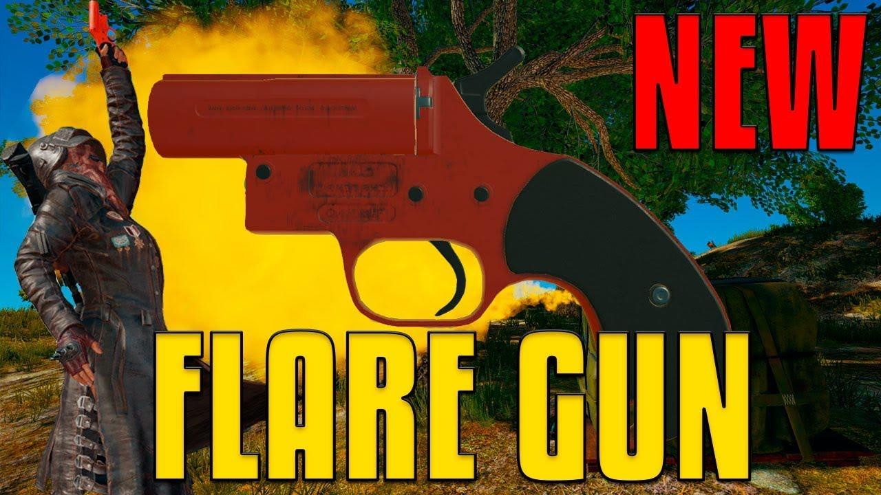 Pubg Wallpaper Flare Gun: NEW Flare Gun! - Airdrop Madness