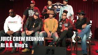 "Juice Crew Talk ""The Symphony"" At B.B. Kings Reunion [NODFACTOR.COM]"