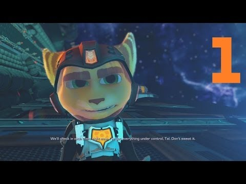 [Part 1] Ratchet and Clank Into the Nexus Gameplay Walkthrough/Let's Play/Playthrough (PS3)
