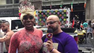 NYC Pride 2015 with Monet X Change