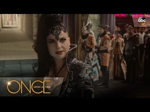 Regina Poses as Evil Queen - Once Upon A Time