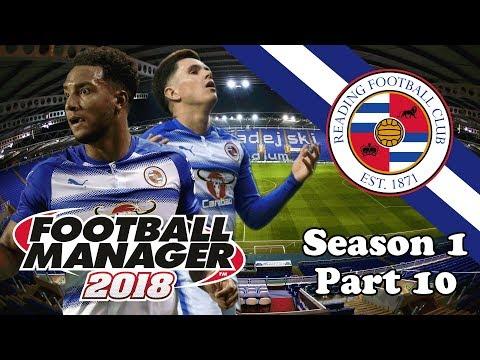 Football Manager 2018: Reading FC: Season 1 Part 10