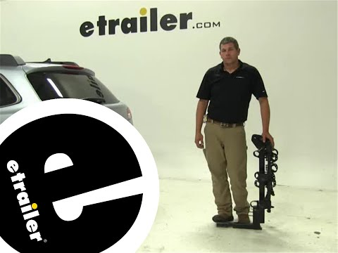Review of the Thule Hitching-Post-Pro Hitch-Bike-Racks on a 2014 Subaru Outback Wagon - etrailer.com