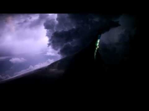 Thunderstorm, Turbulence and Lightning occurred during Garuda Indonesia night takeoff from Jakarta