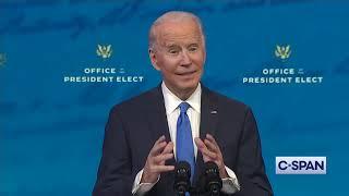 President-elect Joe Biden on Electoral College Vote