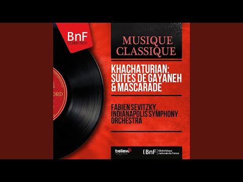 Suite from Masquerade, Op. 48a: Nocturne