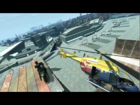 GTA IV Epic Ramps Stunts 6 MONTAGE