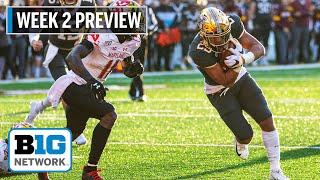 Week 2 Preview: Maryland, Minnesota Look to Bounce Back | Big Ten Football