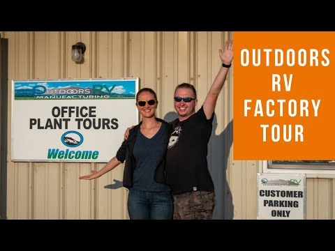 Outdoors RV Factory Tour Part 1 (How 4 Season Travel Trailers are made)