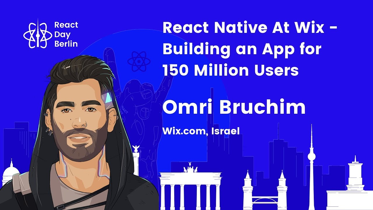 React Native At Wix – Building an App for 150 Million Users – Omri Bruchim