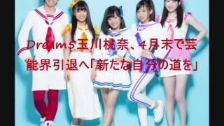 Dream5玉川桃奈、4月末で芸能界引退へ「新たな自分の道を」 についての...