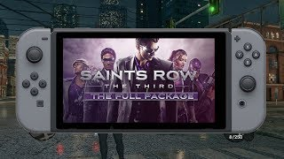 Saints Row: The Third No Nintendo Switch