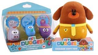HEY DUGGEE Italiano - Apriamo il Peluche di Hey Duggee e le Figurine dei Lupetti [Gioco per Bambini]
