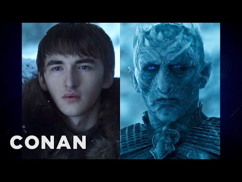 Isaac Hempstead Wright: Do I Really Look Like An Ancient Ice Zombie? - CONAN on TBS