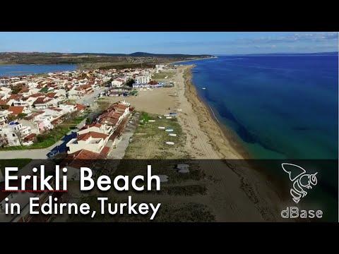 Erikli Beach in Edirne, Turkey