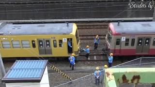 西武鉄道新101系甲種輸送 新秋津~所沢 -Seibu railway Series101-