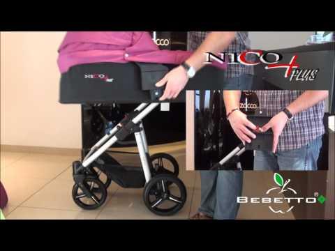 Видеообзор детской коляски 2 в 1 Bebetto Nico Plus