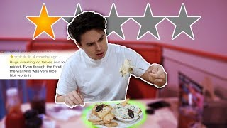 Eating at the WORST REVIEWED RESTAURANT in my city (1 STAR)