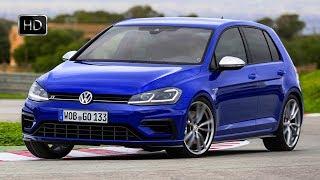 2017 Volkswagen Golf R Facelift (Euro-Spec) Design & Racetrack TEST Drive HD