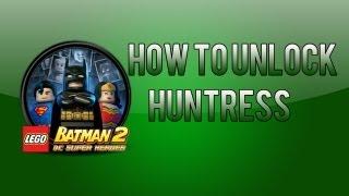 LEGO Batman 2: How To Unlock Huntress