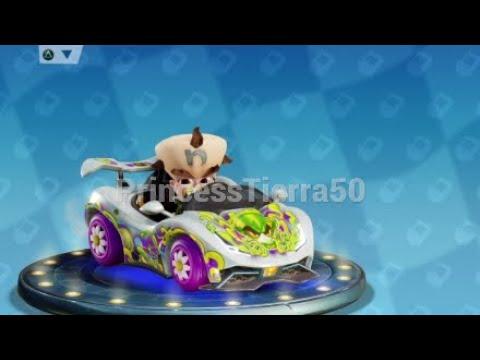 Crash Team Racing Nitro-Fueled Baby Cortex Gameplay
