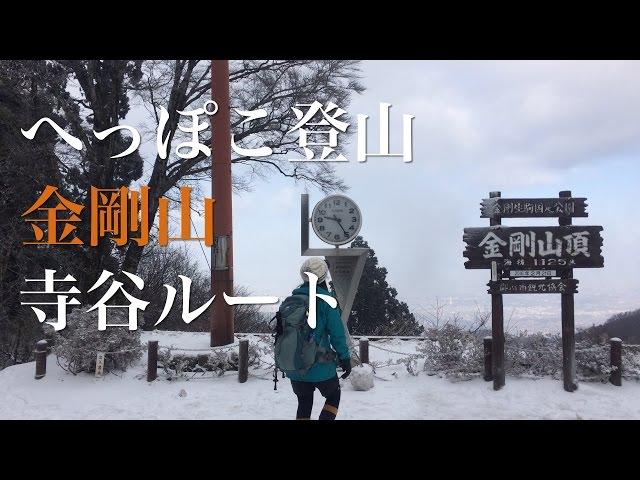 へっぽこ登山 金剛山#2(大阪府/奈良県) 寺谷ルート