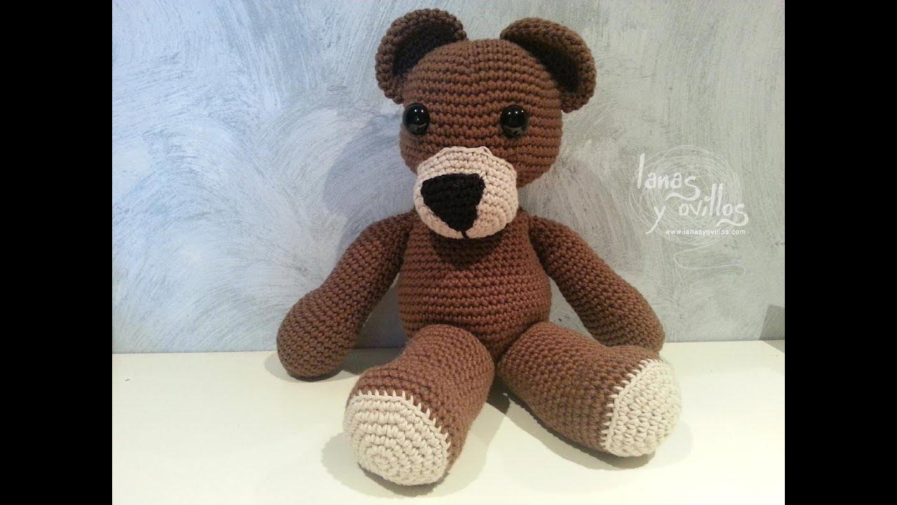 Amigurumis Paso A Paso En Español : Tutorial oso teddy bear amigurumi paso a paso en español de