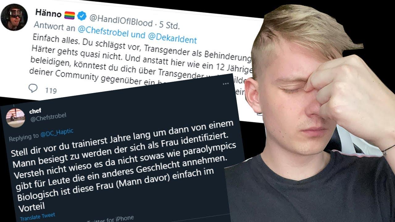 CHEFSTROBEL vs. HANDOFBLOOD und DEKARLDENT - Ist er TRANSFEINDLICH? - Kuchen Talks #647